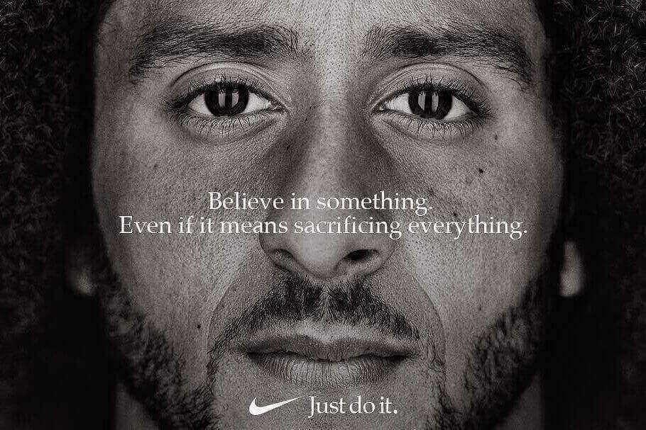 campagne Nike, exemple de Copywriting émotionnel