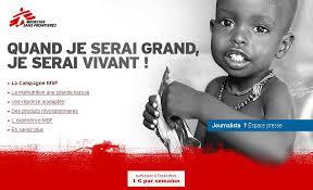 campagne MSF, exemple de Copywriting émotionnel